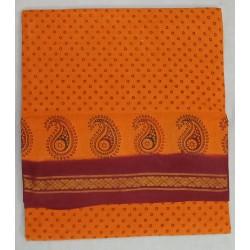 Madurai Sungudi Sarees - Jari Border Double Side  9 yards madisar special