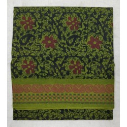 Madurai Sungudi Sarees - One side thread border with fancy prints