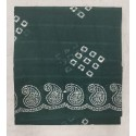 Madurai Sungudi Sarees - Double Side Without Jari Border with Wax Prints