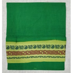 Madurai Sungudi Sarees - one side thread border fancy prints